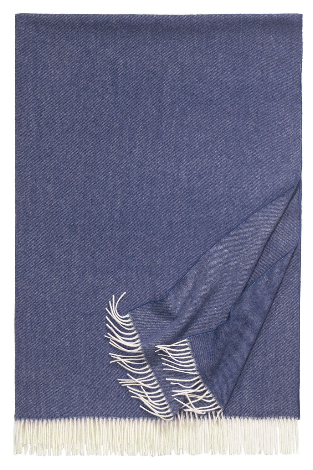 Bild von Boston_navy_blanket_wolle_soft_170, Variante denim
