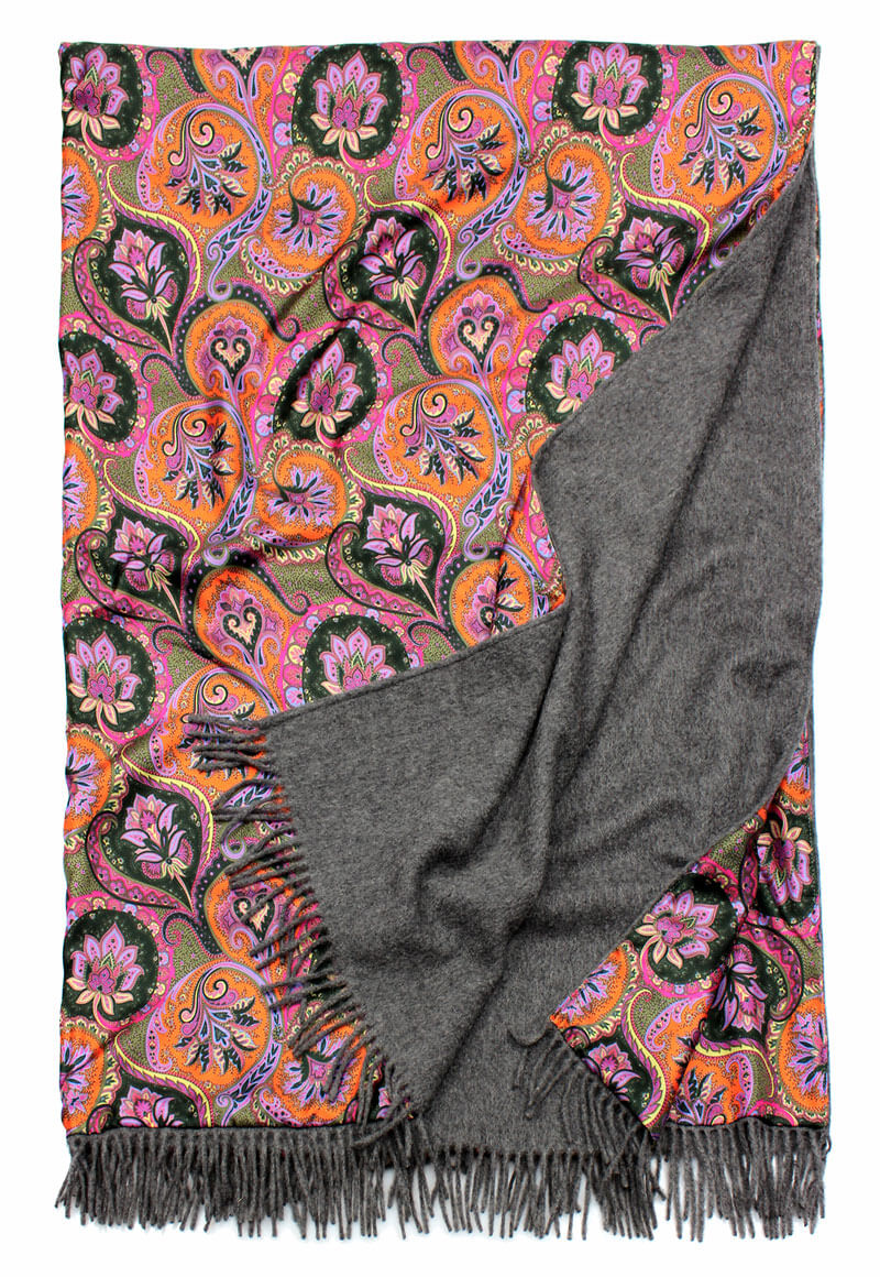 flanell - Paisley multi