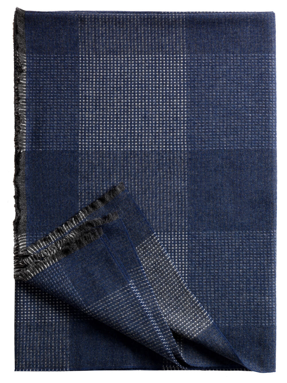 Bild von Glasgow_navy_wool_blanket_100, Variante Dunkeljeans