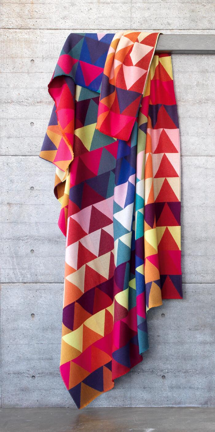 Bild von Mexico_jacquardplaid_design_blanket