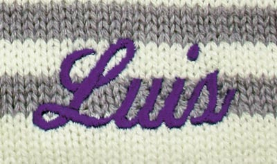 Stickfarbe violett