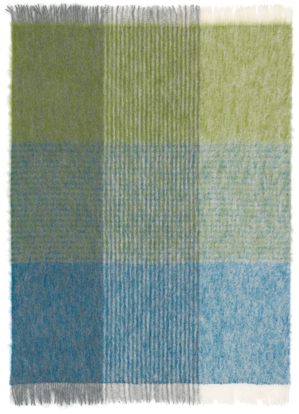 Bild von StPetersburg_kiwi_blue_mohair_blanket_104, Variante kiwi-türkis