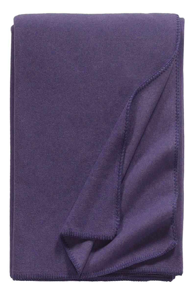Bild von TonySmall_ultraviolett_fleece_blanket_3373, Variante aubergine