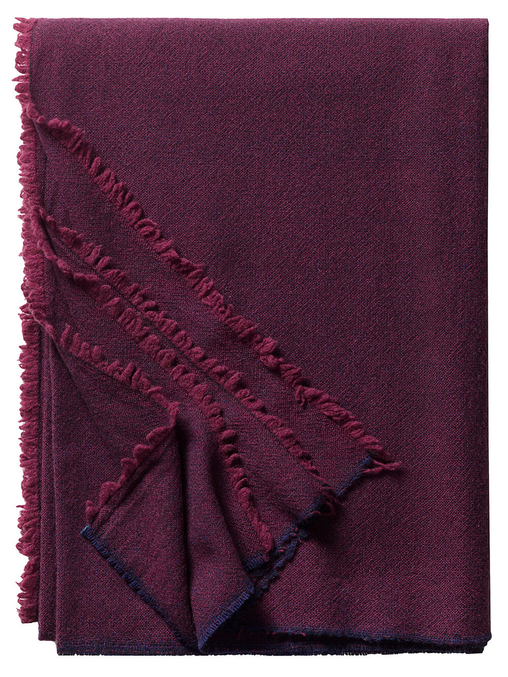 Bild von Vegas_darkred_decke_casual_wool_104, Variante Bordo