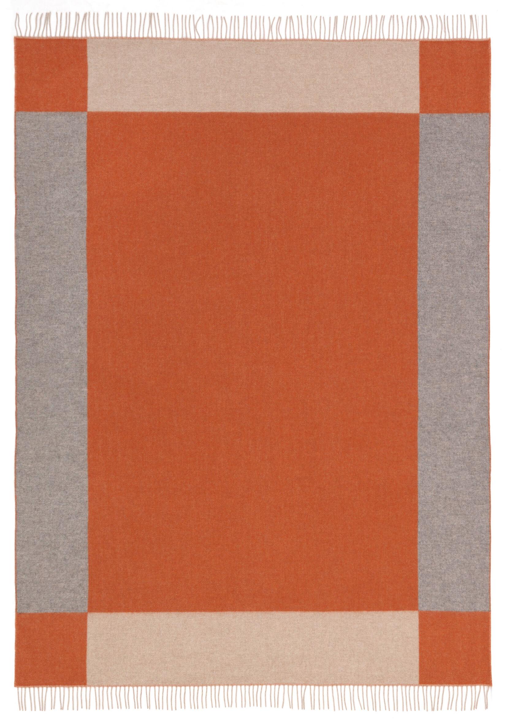 orange-grau